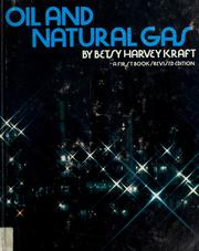 Cover of: Oil and natural gas