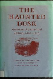 Cover of: The Haunted dusk