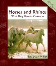 Cover of: Horses and Rhinos