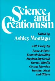 Cover of: Science and creationism