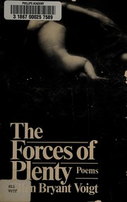 Cover of: The forces of plenty