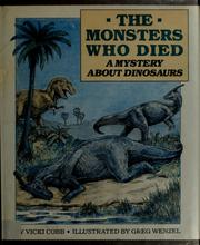 Cover of: The monsters who died: a mystery about dinosaurs