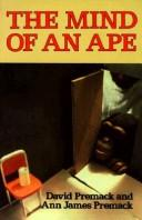 Cover of: The mind of an ape