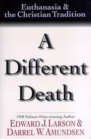Cover of: A different death