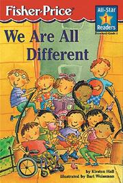 Cover of: We are all different