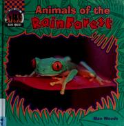 Cover of: Animals of the rain forest
