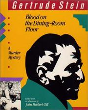 Cover of: Blood on the dining-room floor: A Murder Mystery