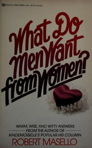 Cover of: What do men want from women?