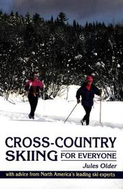 Cover of: Cross-country skiing for everyone