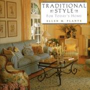 Cover of: Traditional style for today's home