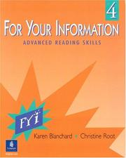 Cover of: For your information 4: advanced reading skills