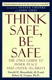 Cover of: Think safe, be safe
