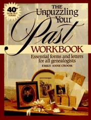Cover of: The Unpuzzling your past workbook