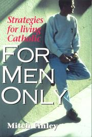 Cover of: For men only