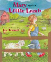 Cover of: Mary had a little lamb