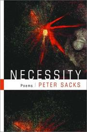 Cover of: Necessity