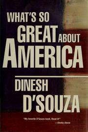 Cover of: What's so great about America