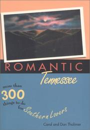 Cover of: Romantic Tennessee