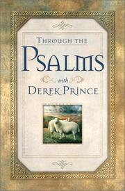 Cover of: Through the Psalms with Derek Prince