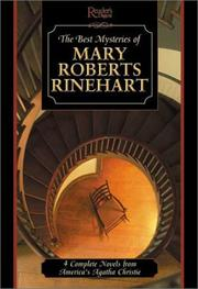 Cover of: The best mysteries of Mary Roberts Rinehart.