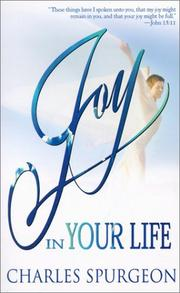 Cover of: Joy in your life