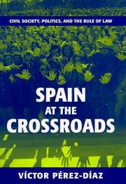 Cover of: Spain at the crossroads