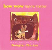 Cover of: Bow wow meow meow