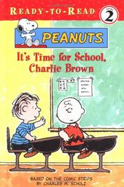 Cover of: It's time for school, Charlie Brown
