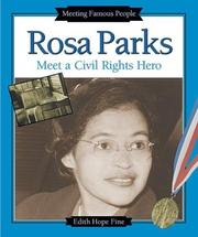 Cover of: Rosa Parks: meet a civil rights hero