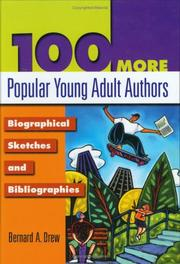 Cover of: 100 more popular young adult authors: biographical sketches and bibliographies