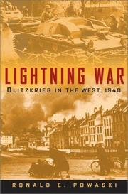 Cover of: Lightning war