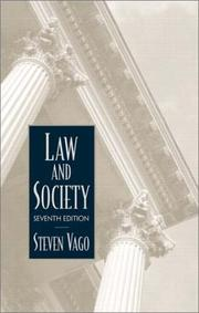 Cover of: Law and society