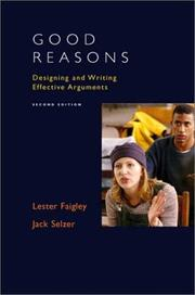 Cover of: Good reasons