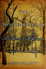 Cover of: The disappearance of Sherlock Holmes