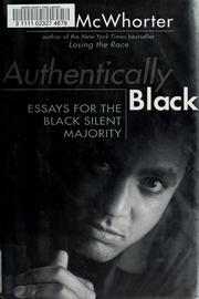 Cover of: Authentically Black