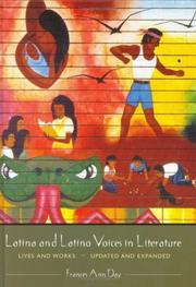 Cover of: Latina and Latino voices in literature