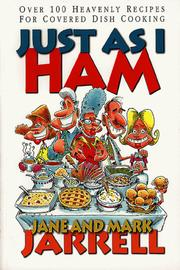 Cover of: Just as I ham