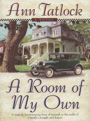 Cover of: A room of my own