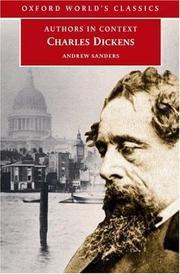Cover of: Charles Dickens