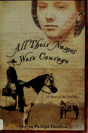 Cover of: All their names were Courage
