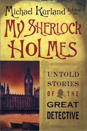 Cover of: My Sherlock Holmes