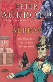 Cover of: Albion: The Origins of the English Imagination