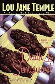 Cover of: Death is semisweet