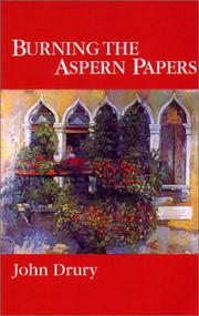 Cover of: Burning the Aspern papers