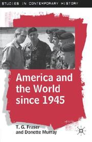 Cover of: America and the world since 1945