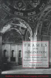 Cover of: Frames of the imagination