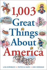 Cover of: 1,003 great things about America