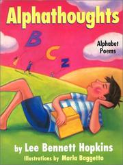 Cover of: Alphathoughts: alphabet poems