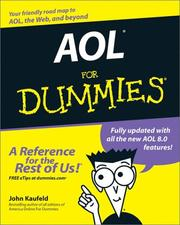 Cover of: AOL for dummies