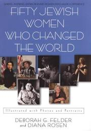 Cover of: Fifty Jewish women who changed the world